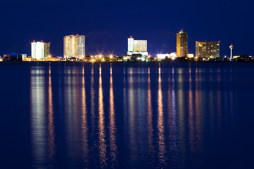 Pensacola Beach Skyline