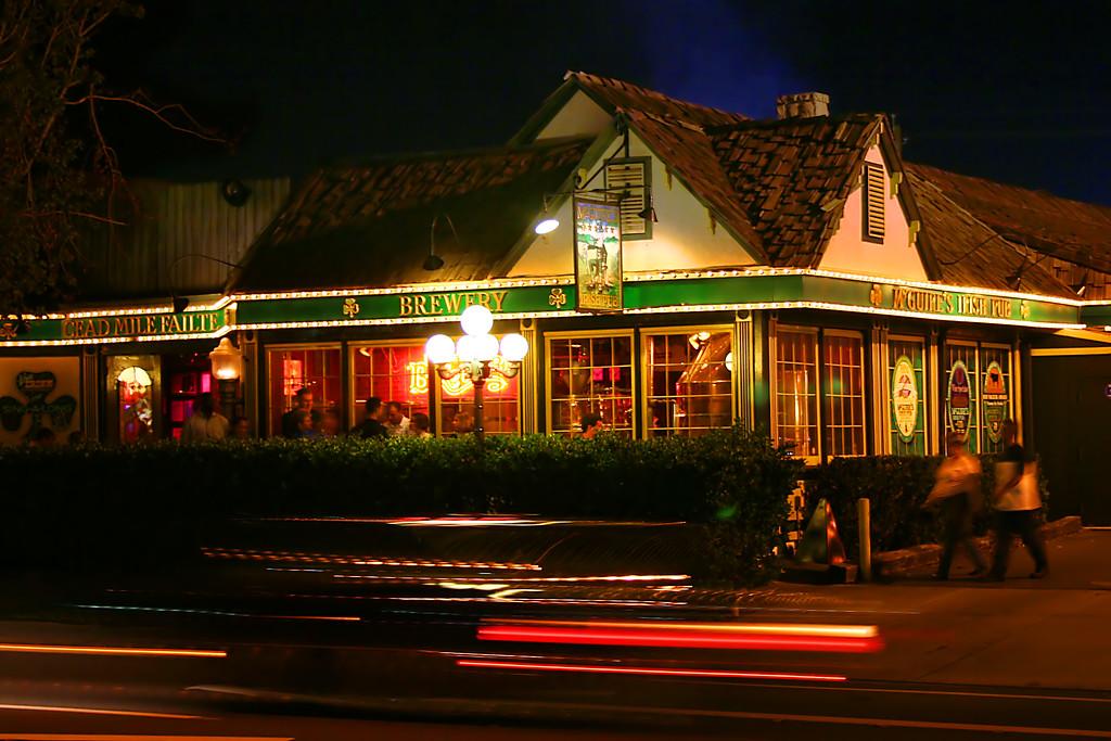 McGuire's at Night