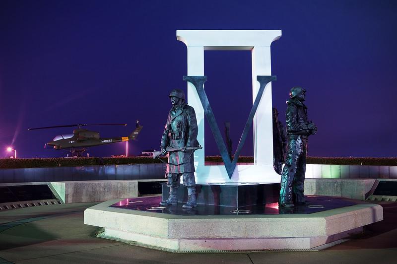 Memorial Park at Night - Pensacola, FL