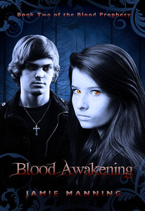 "Book Cover shoot and design for the YA vampire book ""Blood Awakening"" by Jamie Manning. (Out Spring 2013)"