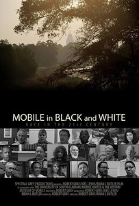 Movie Poster Design - Mobile in Black and White