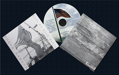My friend Eddie Martin's CD disc image and back cover photo. Front cover is a photo of his dad Glenn Martin on board the USS Menard in Korea in the early '50's.