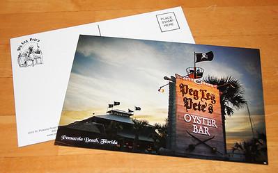 Peg Leg Pete's Postcard