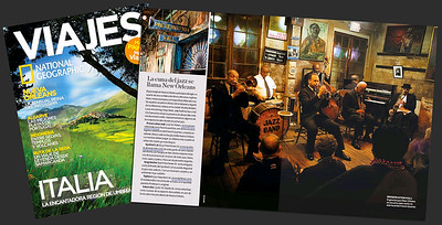 National Geographic Spain, Travel Magazine. Preservation Hall, New Orleans