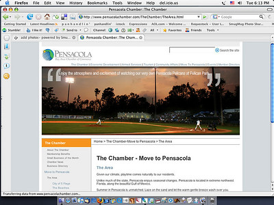 Chamber of Commerce web site.