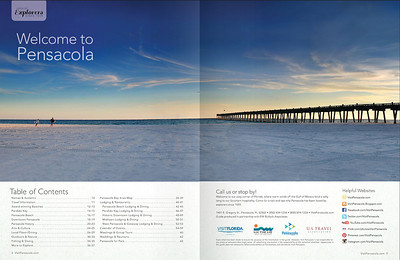 Table of Contents 2014 Visit Pensacola Visitor's Guide
