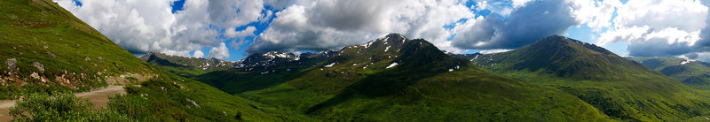 West side of Hatcher's Pass, Palmer, Alaska.