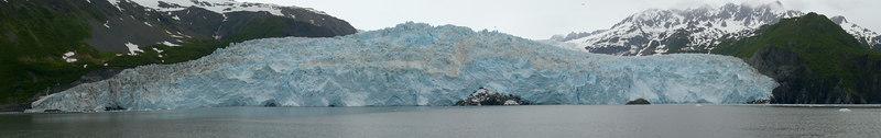 Aialik Glacier, Aialik Bay on Kenai Fjords Tour