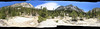 360 degree panorama at Upper Paradise Valley - Kings Canyon NP, June 2010 backpacking trip