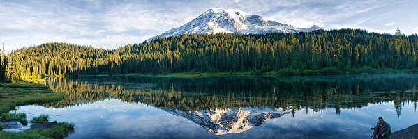 Mount Rainier National Park, September 11, 2009.     This image is best printed in a 1x3 aspect ratio.