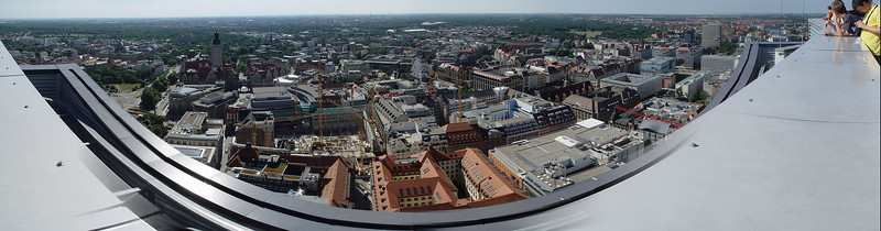 2005-06-28_05405 <span class=ger>Panorama vom MDR Hochhaus in Leipzig mit Blick auf die Leipziger Innenstadt</span><span class=eng>Panoramic view on the city center from the MDR tower in Leipzig</span>