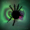 360° View of the Aurora Borealis over Chena River Valley, Alaska – 2014