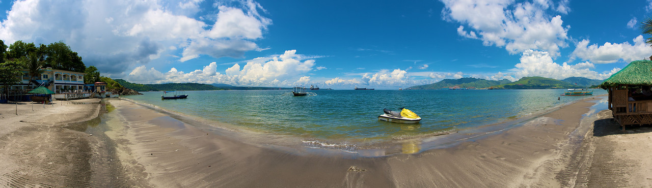 The beach in Subic, Philippines.
