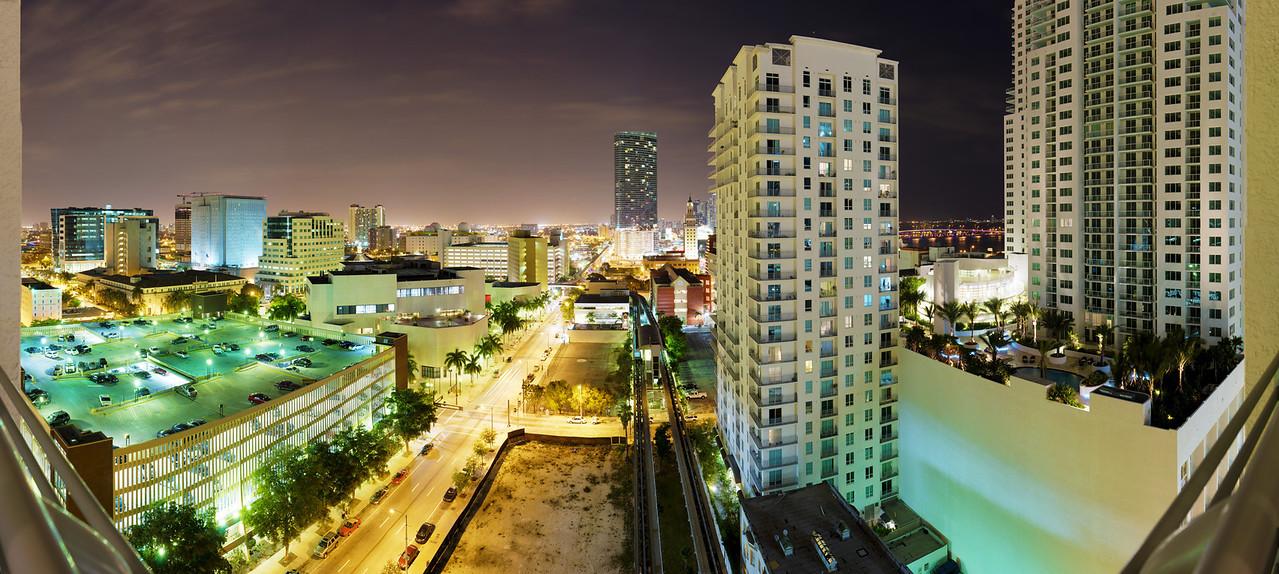 Downtown Miami.