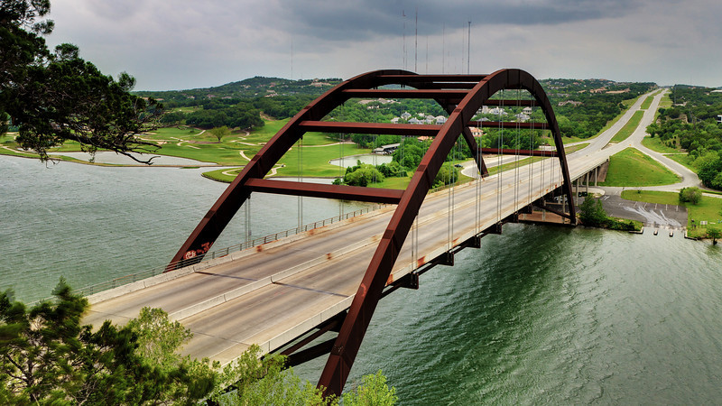 Pennybacker Bridge.