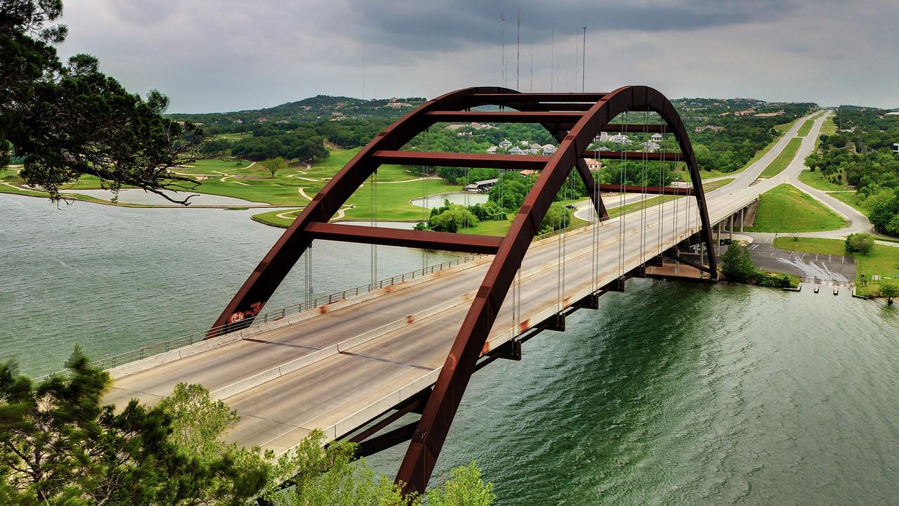 Pennybacker Bridge.
