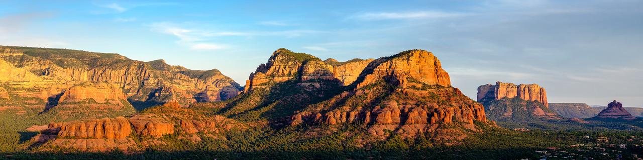 Elephant Rock Pano: Sedona, Arizona