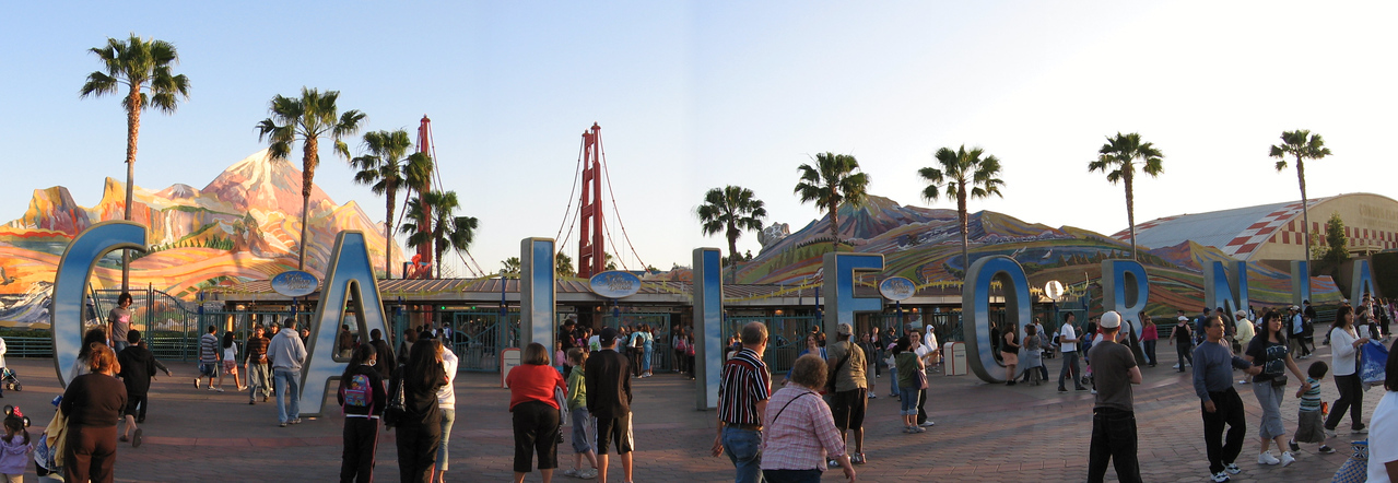 California Adventure, Disneyland<br /> March 2008