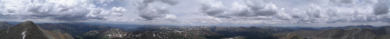 View from Torrey's Peak, CO<br /> July 2008