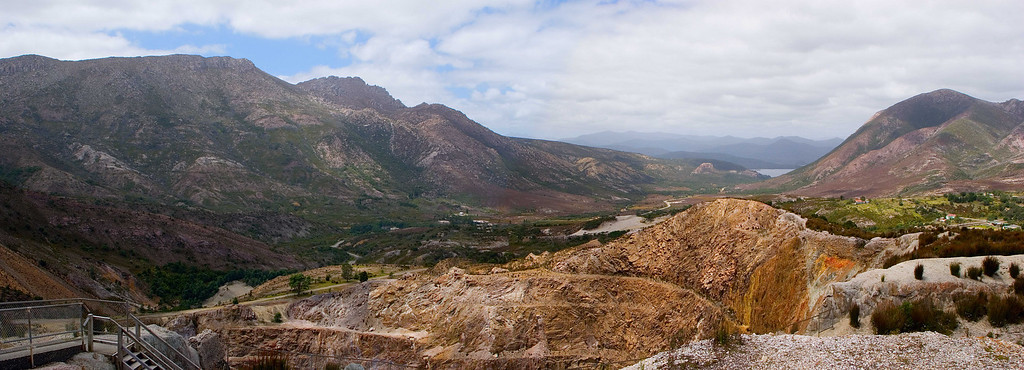 mining area of Queenstown, Tasmania, Australia