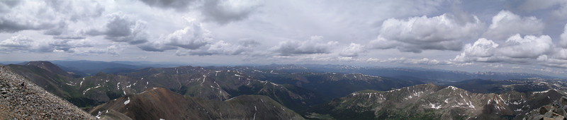 View from Grey Peak, CO<br /> July 2008