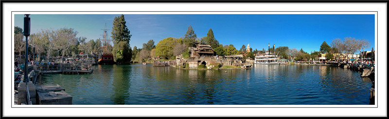 Disneyland® Tom Sawyer Island 2007 by Chuck Bradford