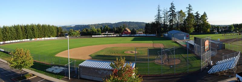 Clackamas HS baseball field