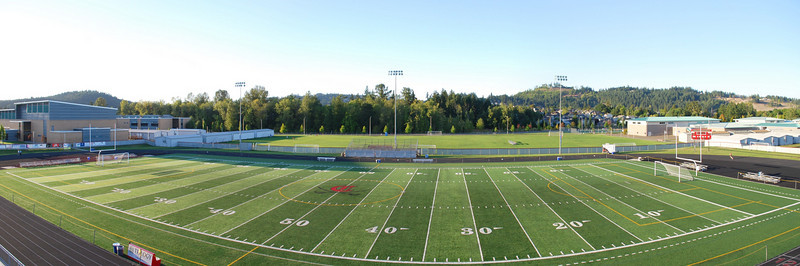 Clackamas HS football field