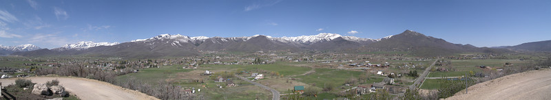"""A wide view of Midway, Utah from <a href=""""http://memorialhillrestoration.com/"""" target=""""_blank"""">Memorial Hill</a>. March 2008"""