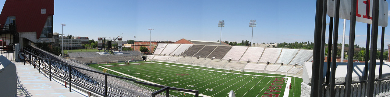<b>Martin Stadium, Washington State University</b><br> <i>(photos and stitching by Grant Rogers)</i>