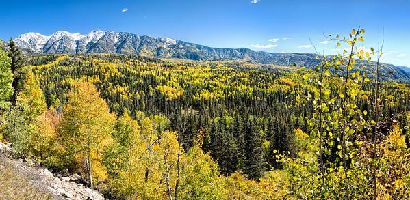 Durango Autumn Pano