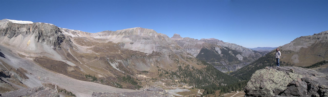 East side of Imogene Pass near Ouray, CO <BR>