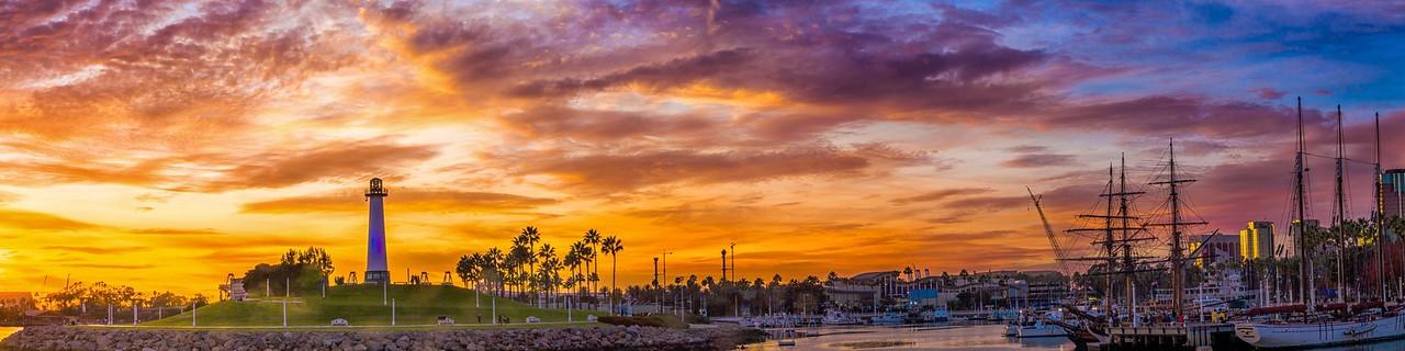 The  Lighthouse Sunset II