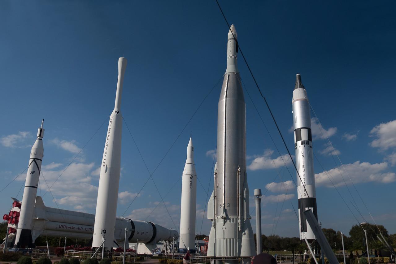 KSC Rocket Garden_Panorama
