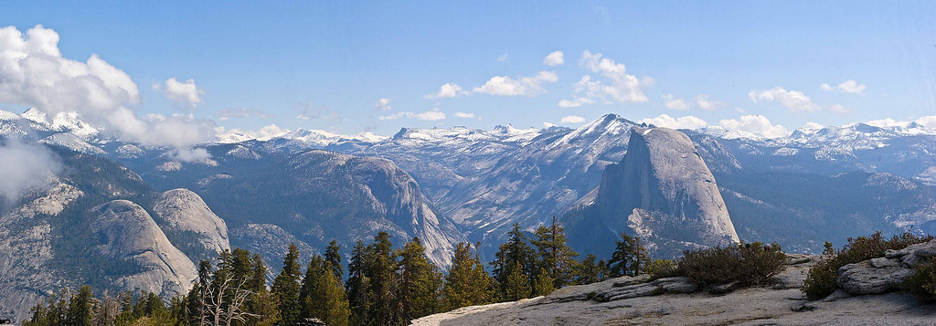 Half Dome from Sentinal Dome, May 2008