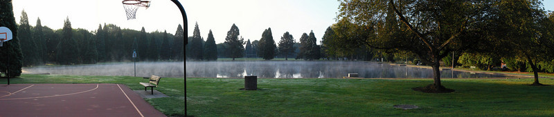 <b>October Morning</b> <br>Westmoreland Park <br>Portland, OR