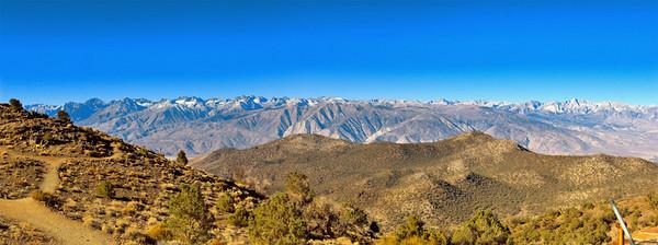Eastern Sierra's pano