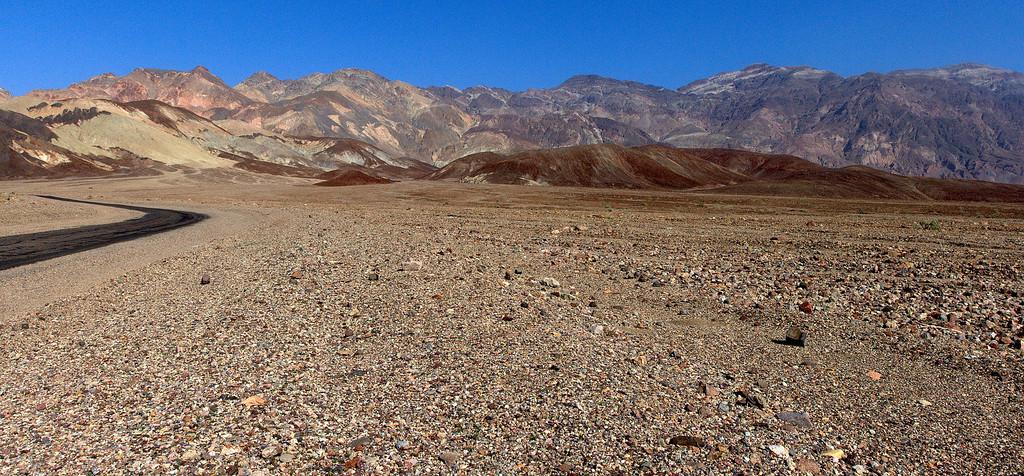 Artist Drive, Death Valley, March 2009
