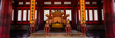 Emperor's Throne Forbidden City, Beijing, China 皇帝的寶座 紫禁城,北京,中國  Other sizes available: 4x12, 5x15, 8x24, 11x33. Please contact me for prices and method of payment.