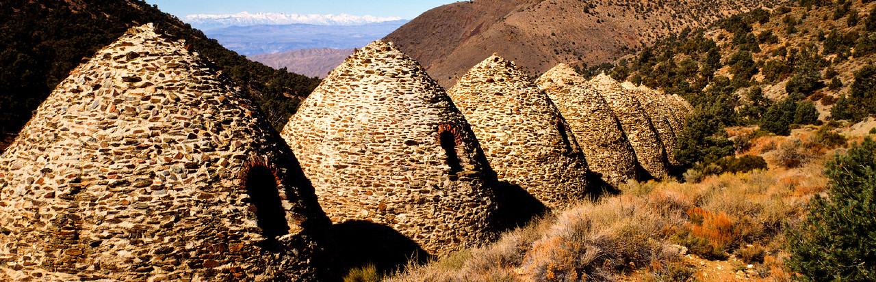 Charcoal Kilns, Panamint Mountains, Death Valley