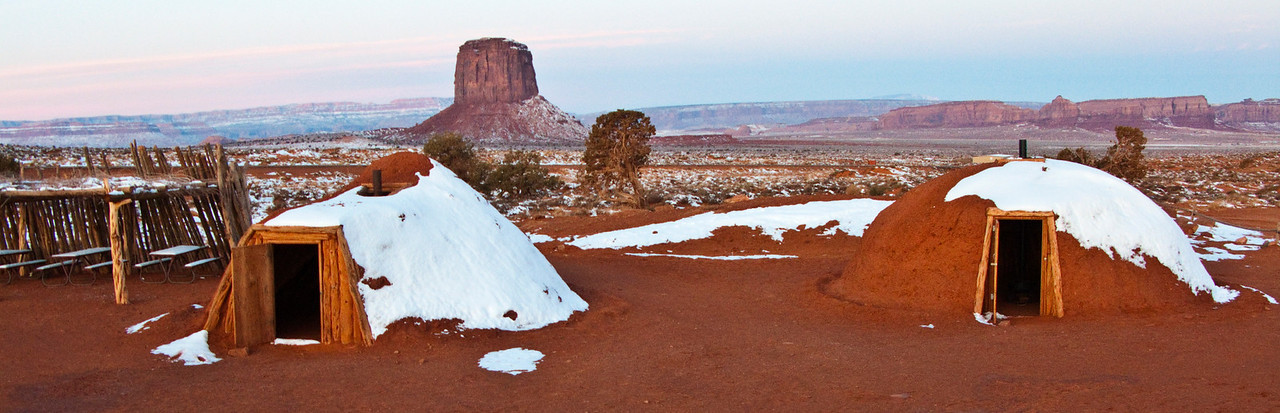 Navajo Hogans, Monument Valley