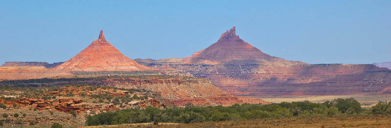 Six Shooter Peaks, The Needles, Canyonlands National Park