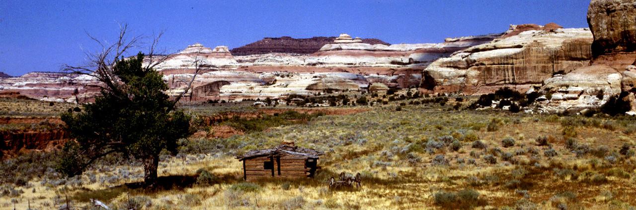 Abandoned Kirk Cabin, Canyonlands National Park
