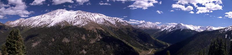 Independence Pass near Aspen, Colorado