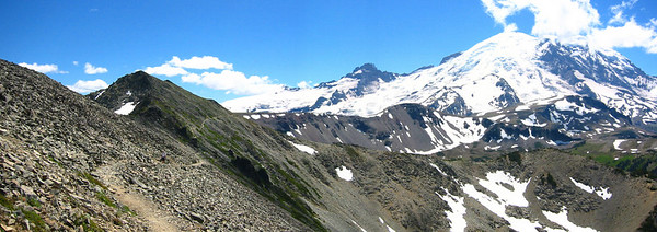 Mt Rainer from Friedmont Lookout Trail
