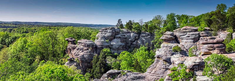 Garden Of The Gods State Park - Shawnee National Forest - Herod, Illinois