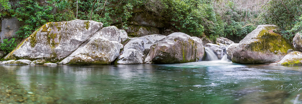 The Midnight Hole -  The Great Smoky Mountains National Park