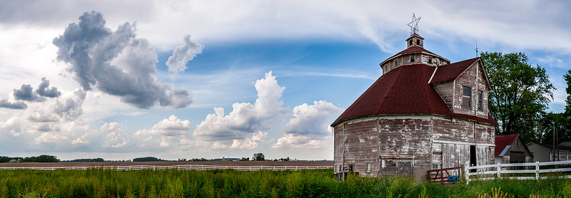 Round Barn Shelby County - Indiana