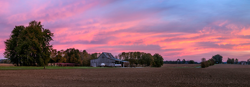 Hiway 41 Farm Sunrise - Kentucky