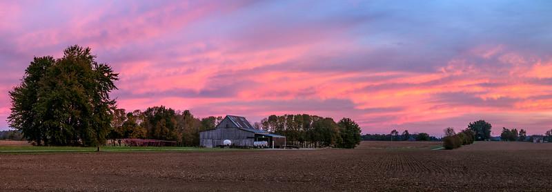 Hiway 41 Farm Sunrise - Kentucky